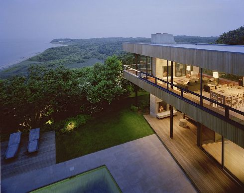 Cutler House in Montauk, New York