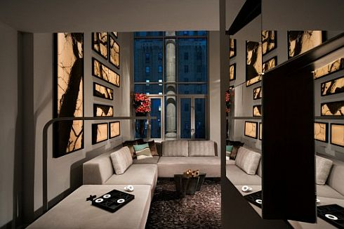 exquisite w hotel in new york 4 Exquisite W Hotel in New York by  BBG BBGM