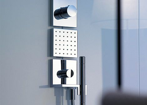 hansgrohe axor starck shower collection The Axor Starck ShowerCollection