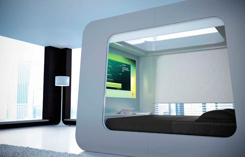 hican bed4 HI CAN: last generation bed presented at Out of Salone  in Milan