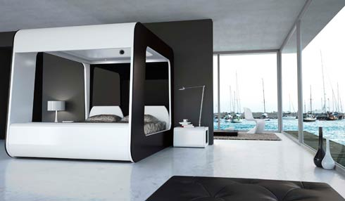hican bed6 HI CAN: last generation bed presented at Out of Salone  in Milan