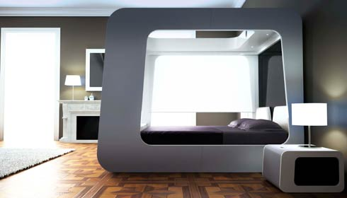 hican bed7 HI CAN: last generation bed presented at Out of Salone  in Milan