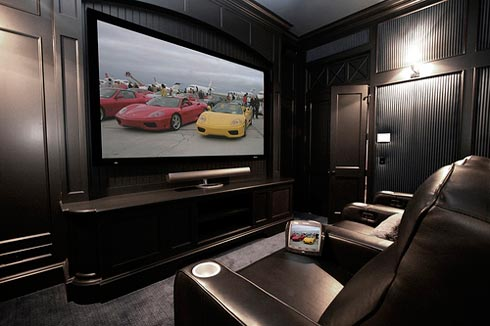 Collect This Idea Home Theater Room