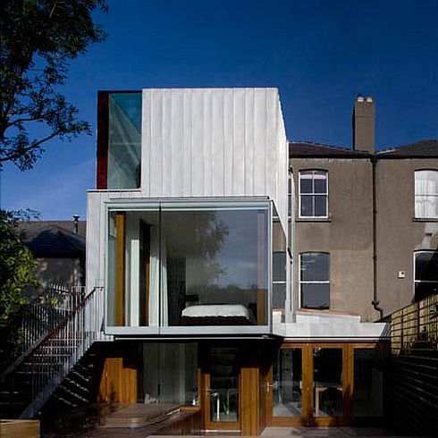 Victorian Terrace House Extension by Ailtireacht Architects