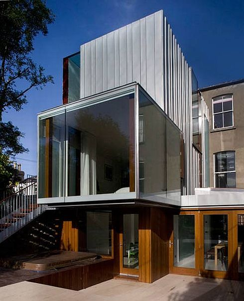 matilde house 2 Victorian Terrace House Extension by Ailtireacht  Architects