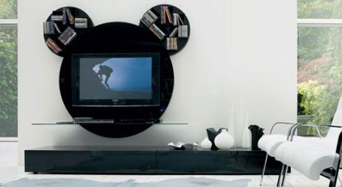 mickey mouse tv stand Mickey Mouse TV Stand by Pacini Cappellini