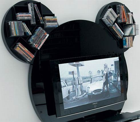 mickey mouse tv stand2 Mickey Mouse TV Stand by Pacini Cappellini
