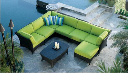 outdoorfurniture Bayside Outdoor Modular Sofa Set