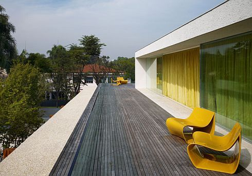 Panama House By Marcio Kogan 1 Stylish Panama House By Marcio Kogan
