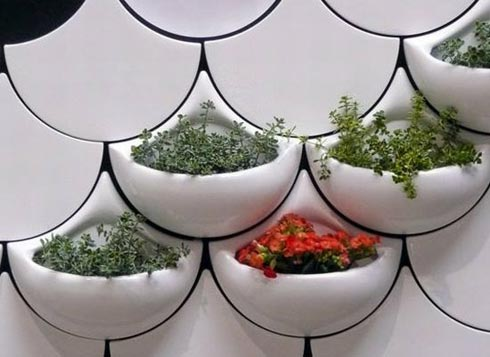 Planter Wall Tiles by Maruja Fuentes | Freshome com