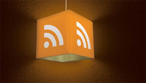 rss lamp Web 2.0 Technology ( RSS ) Inspired Home Products