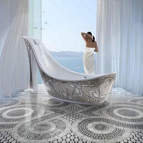 The Beautiful Shoe Bathtub by Milan's SICIS