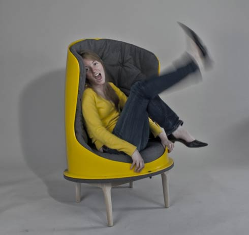 The Slide Chair by Evan Dublin
