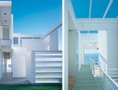 Modern White Beach House by Richard Meier 6 170x130 Reclaimed Beauty Combined with Modern Architecture: Potrero House