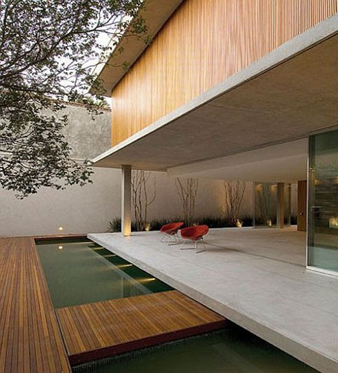 C16h14o3 House By Marcio Kogan 2 Brazilian Modernism: C16H14O3 House By Marcio  Kogan