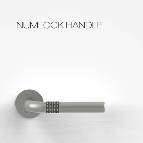 numlock door3 Open your door without keys with the Numlock Handle