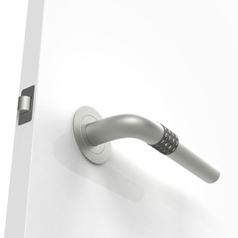 numlock door4 Open your door without keys with the Numlock Handle