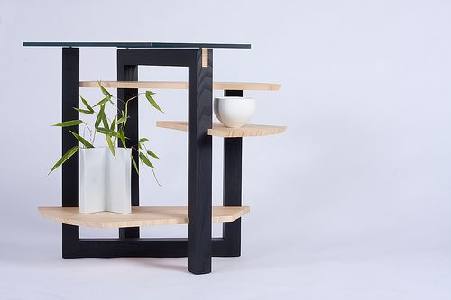 Ken Tomita's Visually Appealing Bamboo Tables