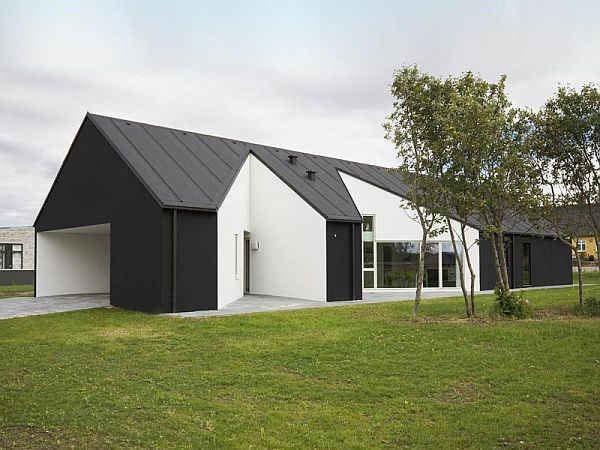 Sinus House in Denmark by Cebra Architects