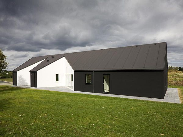 sinus house in denmark by cebra architects 3 Sinus House in Denmark by Cebra Architects