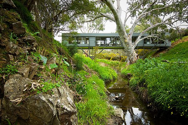 Adventurer's Bridge House by Max Pritchard Architect