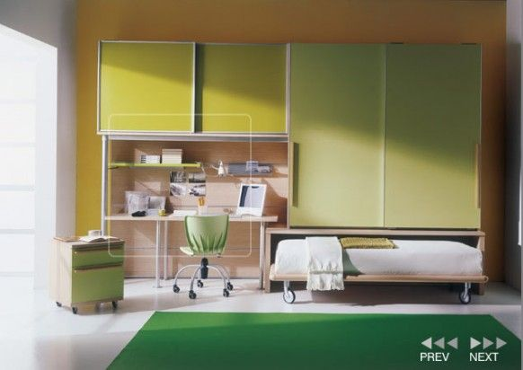 Contemporary Kids Bedroom Design Ideas by Mariani