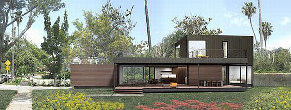 Lake house plans new skyline homes by marmol radziner for Dwell house plans