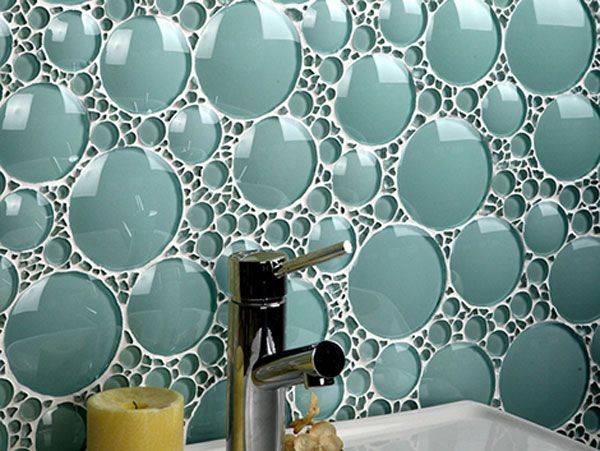 Amazing Bathroom Glass Tile Backsplash Collections From Evit - Glass-tile-backsplash-pictures-collection