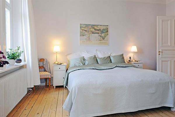 furnished apartment bedroom2 Beautiful Furnished Apartment in a Finely Restored Property