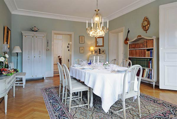 furnished apartment dinning room Beautiful Furnished Apartment in a Finely Restored Property