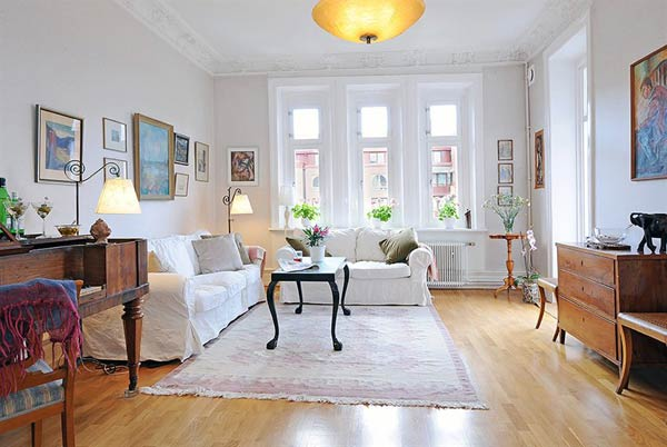 furnished apartment white Beautiful Furnished Apartment in a Finely Restored Property