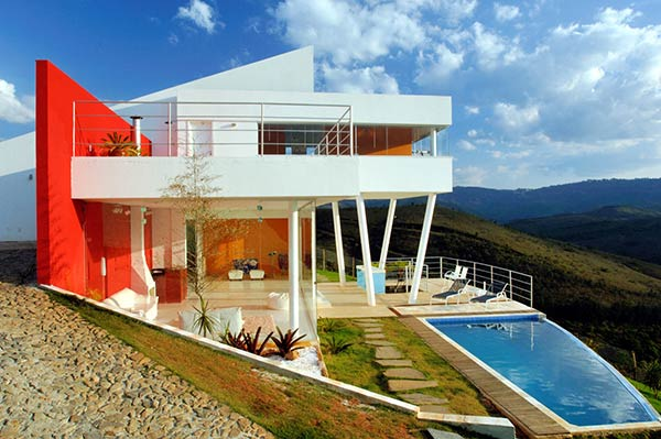 Modern Mountain Home Design By Ulisses Morato Freshome Com