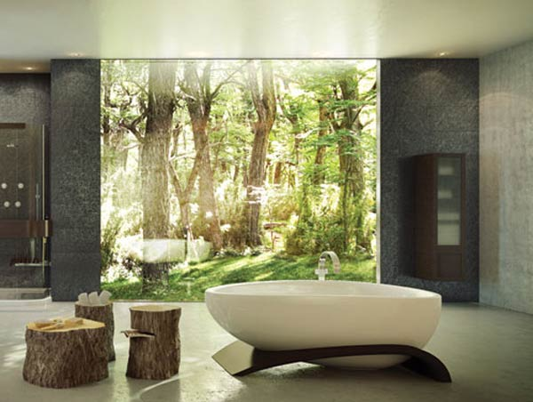 roman bathtub2 Contemporary Freestanding Bathtub : Viaggi