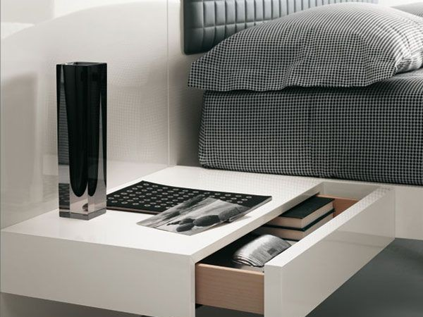 Modern Suspended Bed : Aladino up by Alf Group