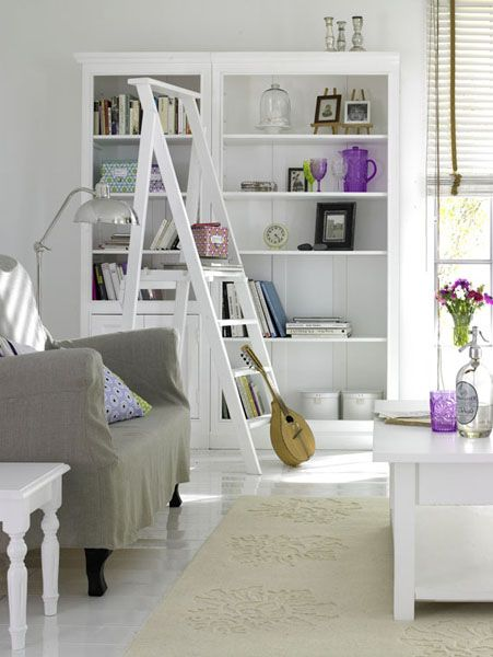 white color interior design21 Decorating White Spaces by Adding a Delicate Touch of Color