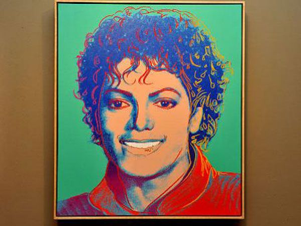 Rare Michael Jackson Portrait By Andy Warhol Up For Sale