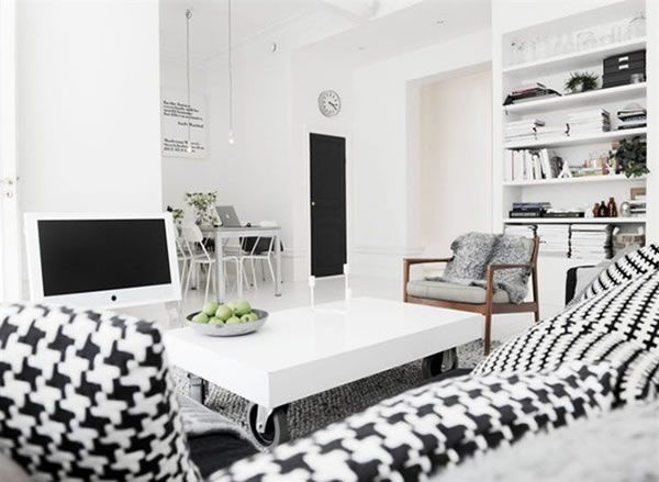 Another Delightful Swedish Apartment That Stuns With Its Chromatics