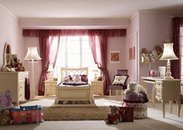 Girls Bedroom Design Ideas by Pm4 1 Girls Bedroom Design Ideas by Pm4, Pampered in Luxury