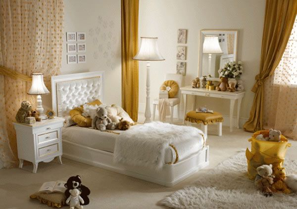 Girls Bedroom Design Ideas by Pm4 4 Girls Bedroom Design Ideas by Pm4, Pampered in Luxury