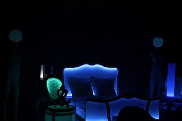 Poesy Luminotherapy Bed by Philippe Boulet