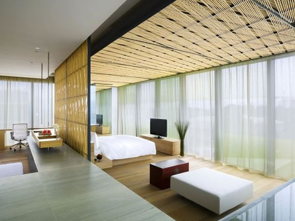 The Opposite House Hotel by Kengo Kuma & Associates