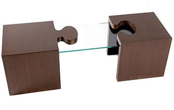 a puzzling table by patou Rubik Cube Locker, a Puzzling Furniture Item