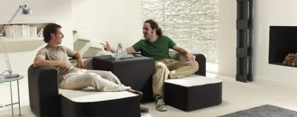 Sofa that can be Made Suitable for Different Situations