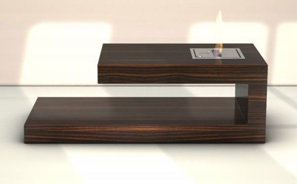 Fireplace + Coffee Table=Fire Coffee Table