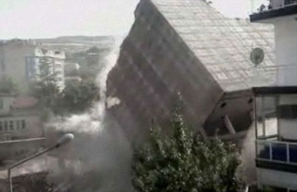 Turkey Building Demolition and an Amazing Unexpected Bad Surprise