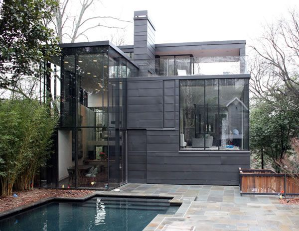Ansley Park Glass House Renovation by BLDGS Architects