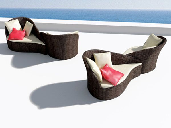 Fiore Sofa Inspired by Flowers 5 Versatile Pool Sofa for Ladies  and Their Guests