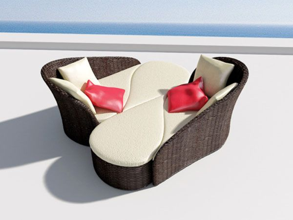 Fiore Sofa Inspired by Flowers 6 Versatile Pool Sofa for Ladies  and Their Guests