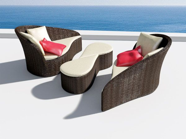 Fiore Sofa Inspired by Flowers Versatile Pool Sofa for Ladies and  Their Guests