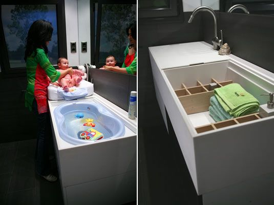 Interesting Sinks: The Herms Baby Slide